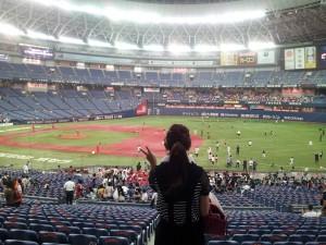 野球(青木さん)